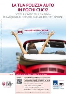 locandina assicurazione auto online