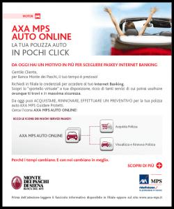 Comunicazione Guidare Protetti AXA MPS